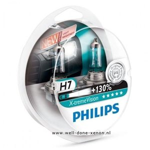 H7 Philips Xtreme Vision 12972XVS2 set