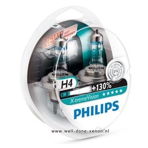 H4 Philips Xtreme Vision 12342XVS2 set