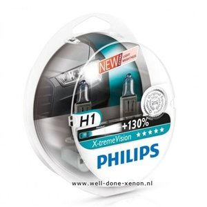 H1 Philips Xtreme Vision 12258XVS2 set